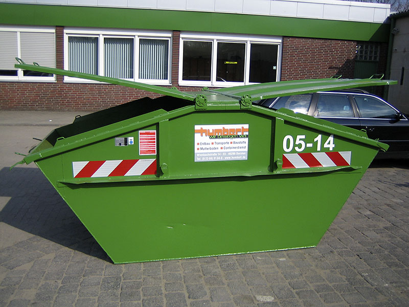 Humbert Transporte Erdbau Abfallentsorgung Containerdienst