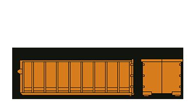 Humbert Containerdienst 33 cbm-Container