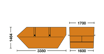 Humbert Containerdienst 7 cbm-Container