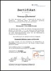 Zertifizierung zum Entsorgungsfachbetrieb